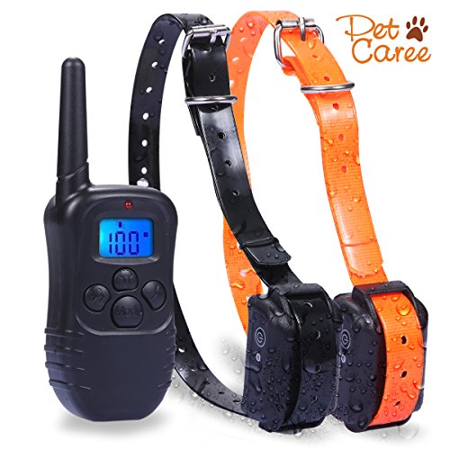 Dog Training Collar, 330 yards Rechargeable Remote Dog Training Collar for 2 (Innotek Cat Collar)