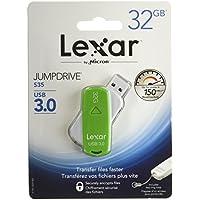 Lexar JumpDrive S35 32GB USB 3.0 Flash Drive - LJDS35-32GABNL Assorted colors