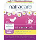 Natracare Ultra Extra Pads Super with Wings - 1 Pack of 10 Pads