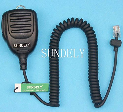 SUNDELY Handheld/Hand Shoulder Mic for Icom Mobile for sale  Delivered anywhere in USA