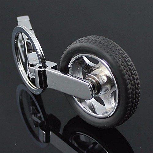 Artistic India Spinning Tyre Rotary Wheel Locking Metal Key chain//Key Ring Volkswagen cars Volkswagen Key Chain
