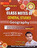 Class Notes of General Studies Geography