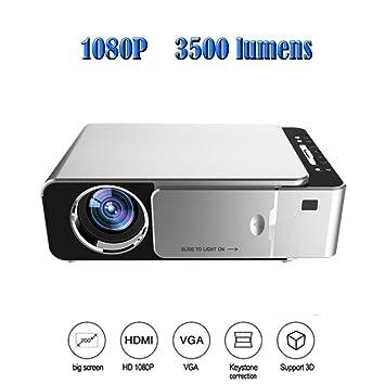 Proyector Proyectores 1280x720 LED 4K 1080p 3500 lúmenes Proyector ...