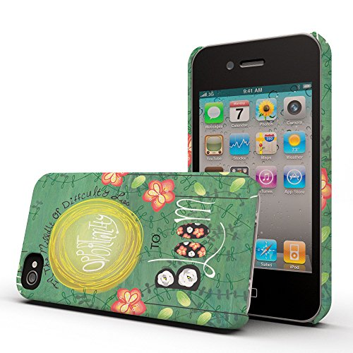 Koveru Back Cover Case for Apple iPhone 4/4S - Pressing On
