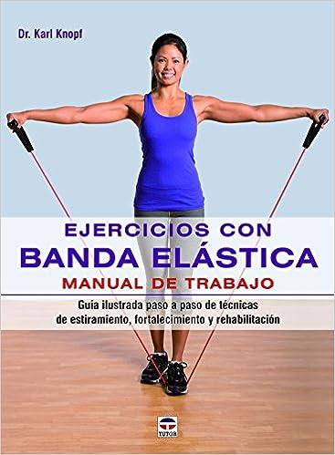 ejercicios con goma elastica para biceps
