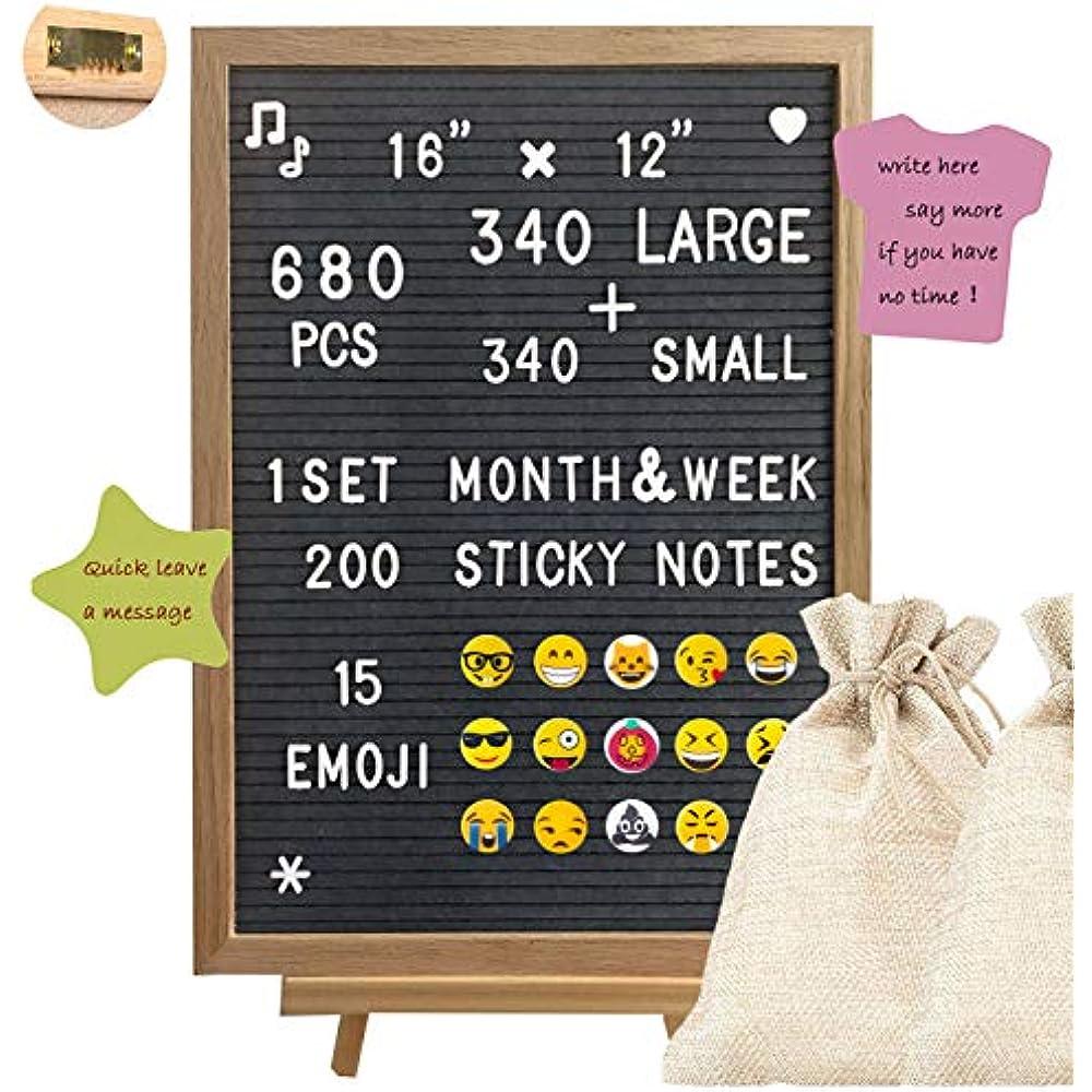 Letter Board Felt Letters 340 x Chagable Boards Emoji Design Fun Office Home