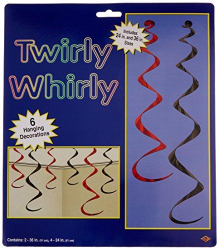 Twirly Whirlys (asstd black & red)