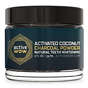 Ratings and reviews for Active Wow Teeth Whitening Charcoal Powder Natural