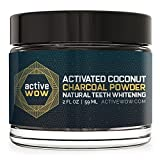 #1: Active Wow Teeth Whitening Charcoal Powder Natural