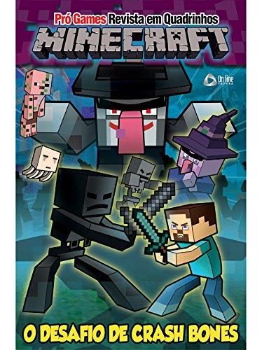 Minecraft - Revista em Quadrinhos Ed.02: O Desafio de Crash Bones (Portuguese Edition)