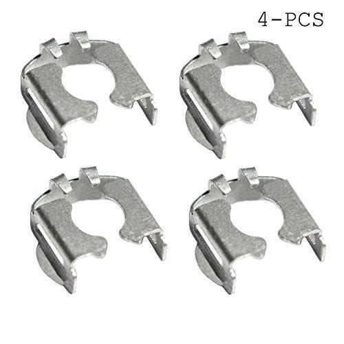 (Fuel injectors Retaining Clip Kits Metal (4))