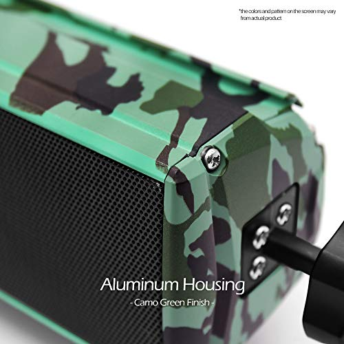 AUX FM Radio GoHawk RE8 Gen.3 Waterproof Bluetooth Motorcycle Stereo Speakers Soundbar 7//8-1.25 in Handlebar Mount MP3 Music Player Audio Amplifier System ATV 4-Wheelers USB