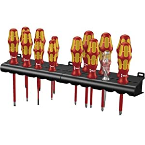 Wera Kraftform Big Pack 100 VDE - Pack de 16 piezas