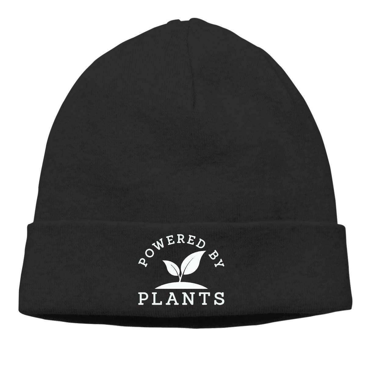 BBlooobow Men Women Powered by Plants Soft Knit Caps