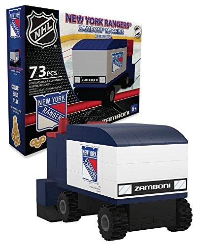 OYO Sports NHL Buildable Zamboni New York Rangers