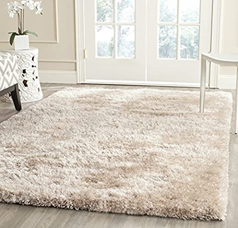 Safavieh South Beach Collection SBS562C Handmade Champagne Polyester Area Rug (3' x 5') - South Beach Wine