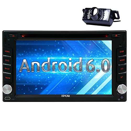 Eincar 6.2 inch Android 6.0 Car Stereo 2 Din in Dash GPS Nav