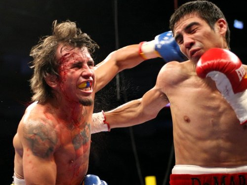 D6956 Edwin Valero vs Antonio Demarco Blood Boxing for sale  Delivered anywhere in Canada