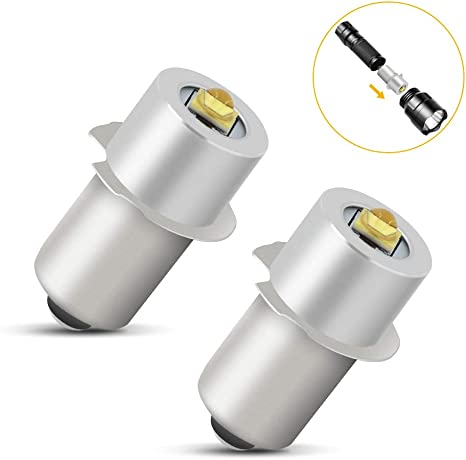 P13.5S 3W 6-24V LED Ersatzlampe Birnen Notfall Arbeitslicht für Taschenlampe