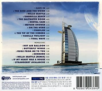 Owl City Ocean Eyes 2cd Digipack Universal Music Korea 2010