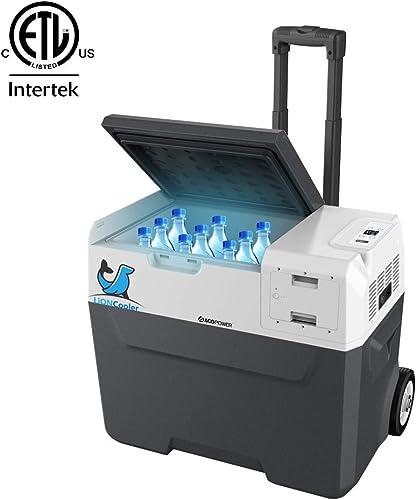 ACOPOWER LiONCooler 1st Battery Powered Portable Solar Fridge Freezer,-4 F