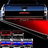 """Opar Waterproof 60"""" Red/white Tailgate LED Strip Light Bar Truck with Reverse, Brake, and Turn Signal"""