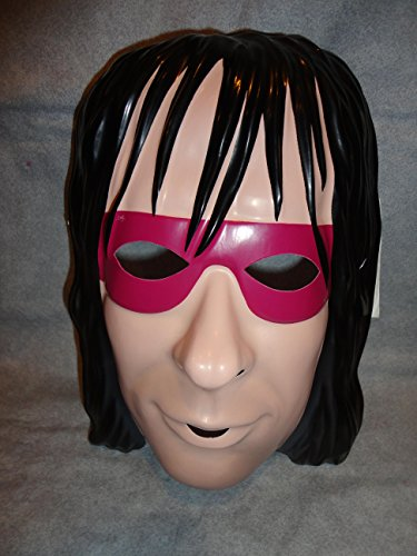 Bret the Hitman Heart WCW WWE Wrestler PVC Mask Kid Size Rubies Halloween Dress Up -