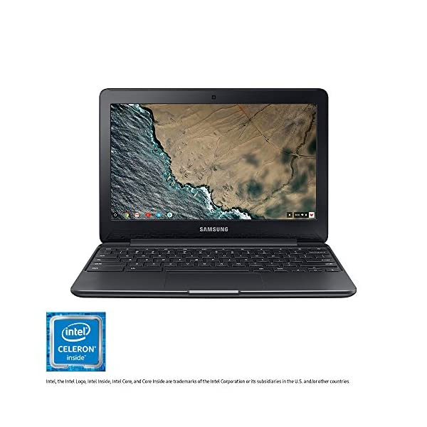 "Samsung Chromebook 3, 11.6"", 4GB Ram, 64GB eMMC (XE500C13-K06US) 1"