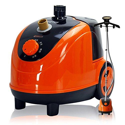 ZZHF Vapeur verticale de vapeur de vêtement 6 vapeur 1800W / 2.2L accrocher la machine chaude couleur orange 330 * 290 * 230mm Blanchisserie et nettoyage