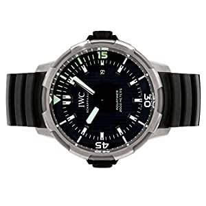 IWC Aquatimer automatic-self-wind mens Watch IW3580-02 (Certified Pre-owned)