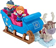 Disney Frozen Kristoff's Sleigh by Little People, Figure and Vehicle