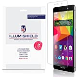 iLLumiShield - BLU Life One X 4G LTE {2016} Screen Protector Japanese Ultra Clear HD Film with Anti-Bubble and Anti-Fingerprint - High Quality Invisible Shield - Lifetime Warranty - [3-Pack]