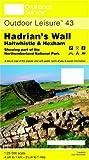 Hadrian's Wall, Haltwhistle and Hexham (Outdoor Leisure Maps)