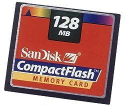 Sandisk 128 Mb Compactflash Card