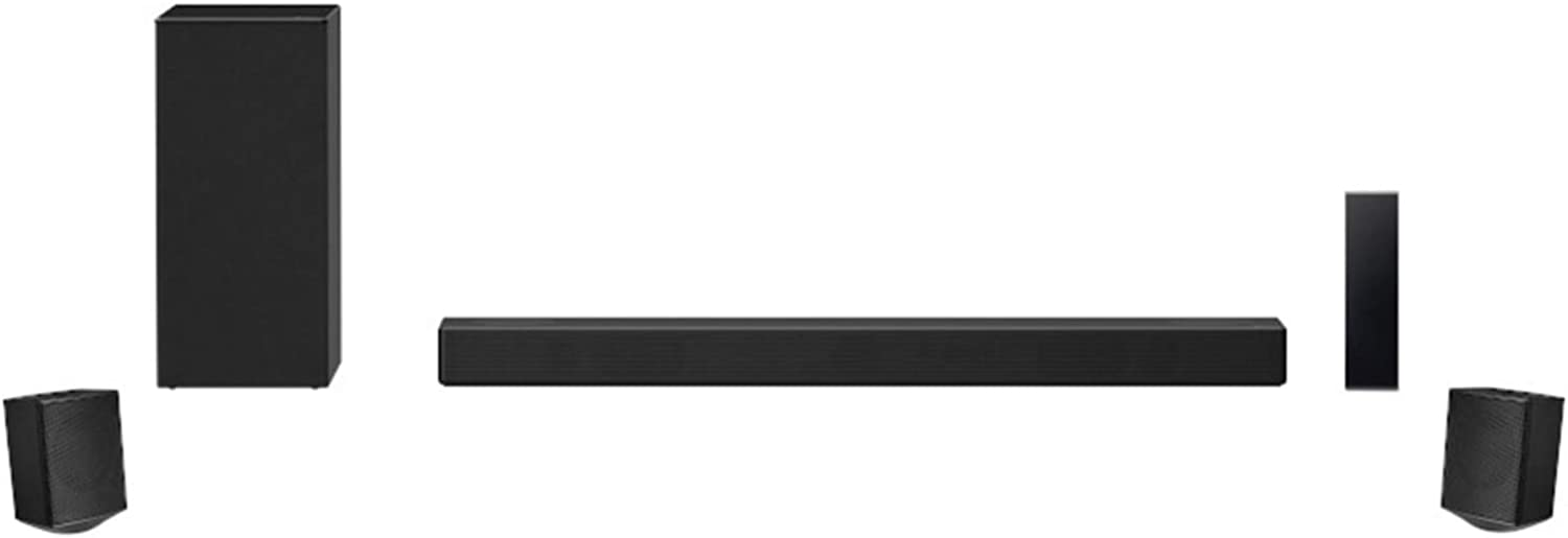 LG SN7R 5.1.2 Channel High Res Audio Sound Bar with Dolby Atmos and Bluetooth (Renewed)