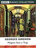 Front cover for the book Maigret Sets a Trap by Georges Simenon