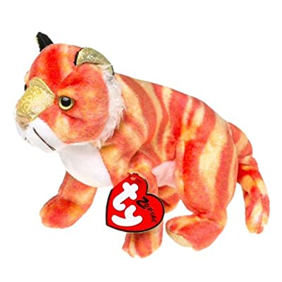 Beanie Babies - Zodiac Ty Tiger: Toys & Games