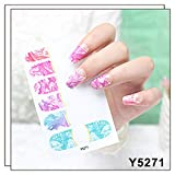 Fineday Nail Sticker, 12pcs DIY Nail Wraps Stickers Patch Foils Art Decals Nail Art Decals O, Nail Art, Health and Beauty Products HotSales