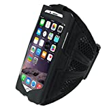 ABC® Sport Gym Running Arm Band Armband Case for iphone 6 Plus 5.5Inch (Black)