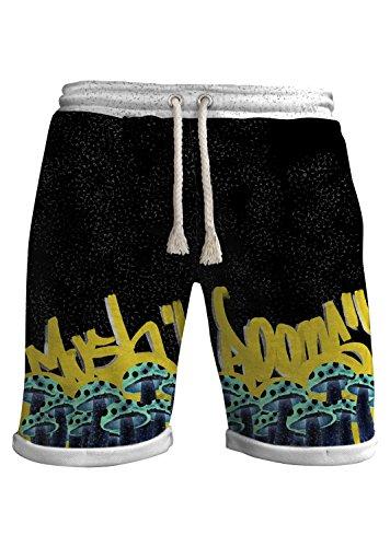 Blowhammer - Bermuda Uomo - Funky Moor - Grunge Urban Uderground Sportsware Graffiti Grafiche Astratte
