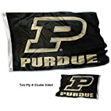 Purdue Boilermakers Slanted P Double Sided Flag Review