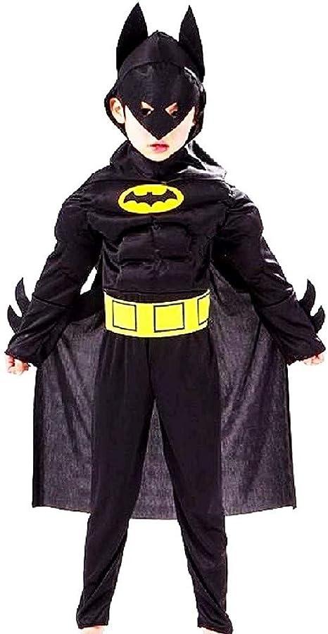 Disfraz de batman de carnaval busto musculoso infantil con máscara ...