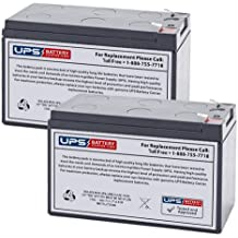 (2) 12V 7Ah F1 - Replacement battery set compatible with the Bruno Stair Lifts
