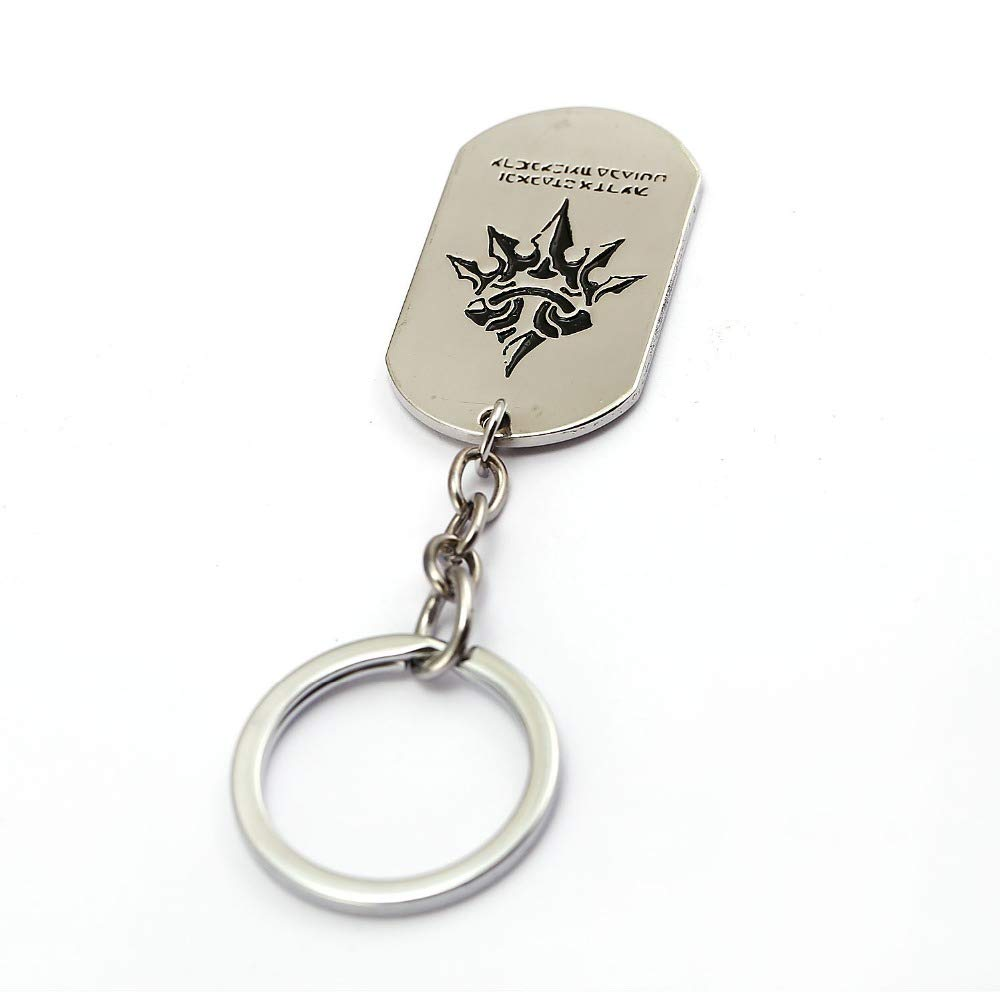 Mct12 - NieR Automata keychain Ghost PS4 game Cosplay Key ...