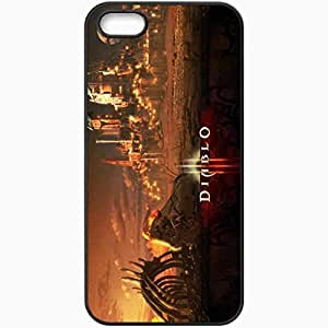 Personalized iPhone 5 5S Cell phone Case/Cover Skin 13584 Black