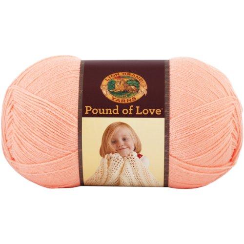 Lion Brand Yarn Hometown Yarn, 1,020 yd/932 m, Creamsicle ()