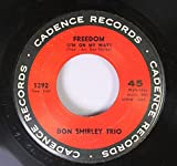 Don Shirley Trio 45 RPM Freedom (I'm On My Way) / Water Boy