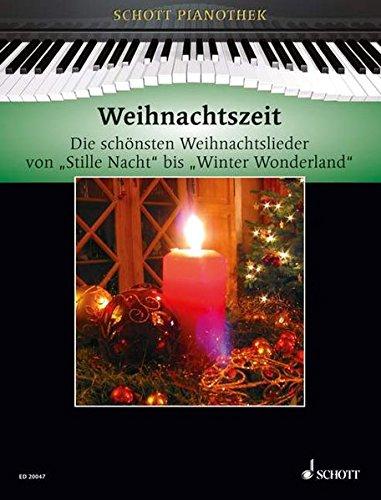 Weihnachtszeit: Die schönsten Weihnachtslieder von Stille Nacht bis Winter Wonderland. Klavier. (Schott Pianothek) (Englisch) Taschenbuch – 7. September 2009 Hans-Günter Heumann SCHOTT MUSIC GmbH & Co KG Mainz 3795759692