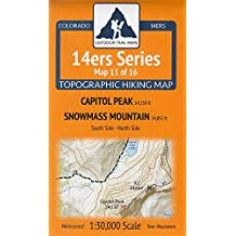Amazoncom Outdoor Trail Maps - 14ers map us