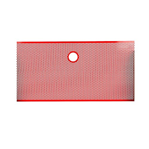 jeep jk red grill inserts - 1